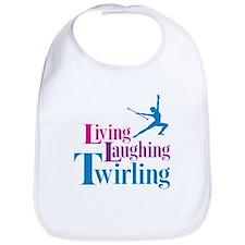 Living Laughing Twirling Bib