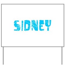 Sidney Faded (Blue) Yard Sign