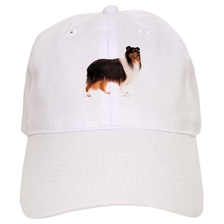 Black Rough Collie Cap