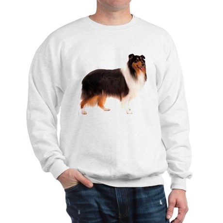 Black Rough Collie Sweatshirt