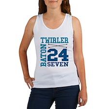 Baton Twirler 24/7 Women's Tank Top