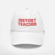 Retro History Tea.. (Red) Baseball Baseball Cap