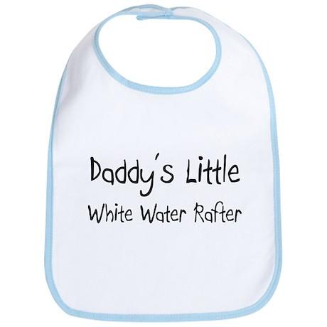 Daddy's Little White Water Rafter Bib