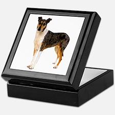 Smooth Collie Dog Lover Keepsake Box