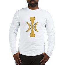 Golden Hand of Eris Long Sleeve T-Shirt