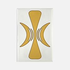 Golden Hand of Eris Rectangle Magnet