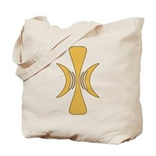 Golden Hand of Eris Tote Bag