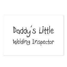 Daddy's Little Welding Inspector Postcards (Packag