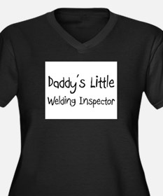 Daddy's Little Welding Inspector Women's Plus Size