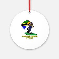 Someone in Tanzania loves me! Ornament (Round)
