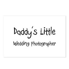 Daddy's Little Wedding Photographer Postcards (Pac