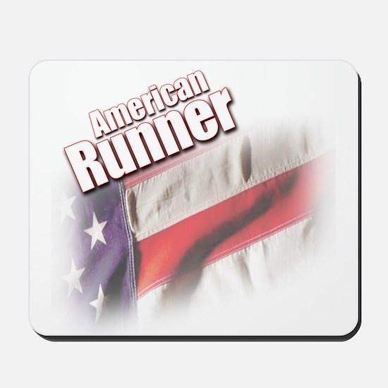American Runner Mousepad