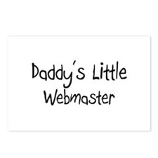 Daddy's Little Webmaster Postcards (Package of 8)