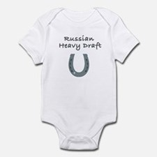 russian heavy draft Infant Bodysuit