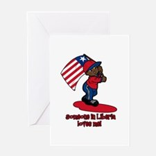 Someone in Liberia loves me! Greeting Card