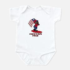 Someone in Liberia loves me! Infant Bodysuit