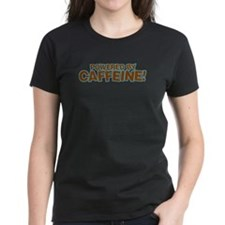 Powered By Caffeine brown Tee