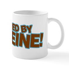 Powered By Caffeine brown Mug