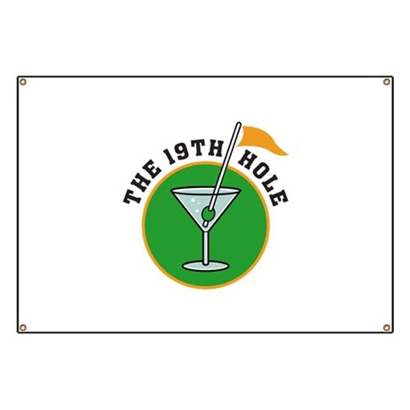 The 19th Hole Banner