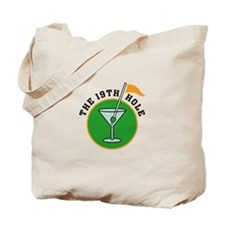 The 19th Hole Tote Bag