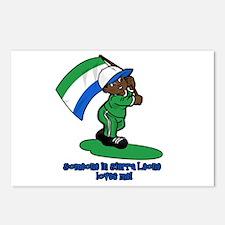 Someone in Sierra Leone loves me! Postcards (Packa