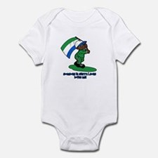 Someone in Sierra Leone loves me! Infant Bodysuit