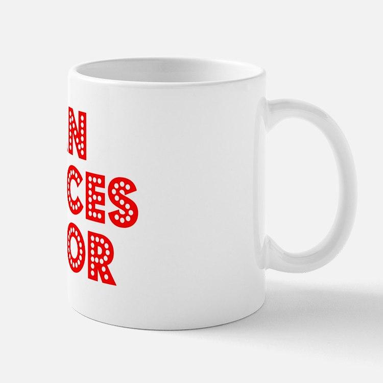 Retro Human Resou.. (Red) Mug