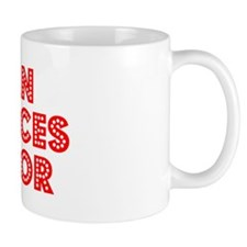 Retro Human Resou.. (Red) Small Mug