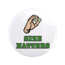"""Size Matters 3.5"""" Button (100 pack)"""