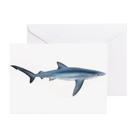 Blue Shark Greeting Cards (Pk of 20)