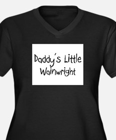 Daddy's Little Wainwright Women's Plus Size V-Neck