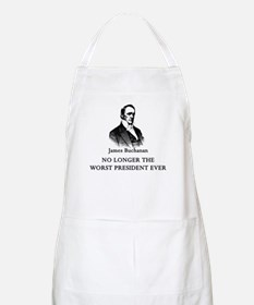 Buchanan No Longer Worst Prez BBQ Apron