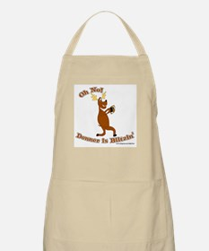 Donner is Blitzen BBQ Apron