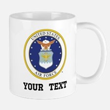 Personalized Air Force Gift Mugs