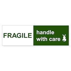 fragile Bumper Sticker (50 pk)