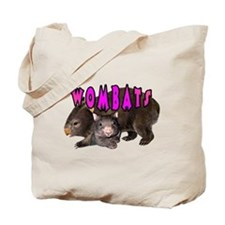 2 Wombats Tote Bag