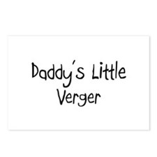 Daddy's Little Verger Postcards (Package of 8)