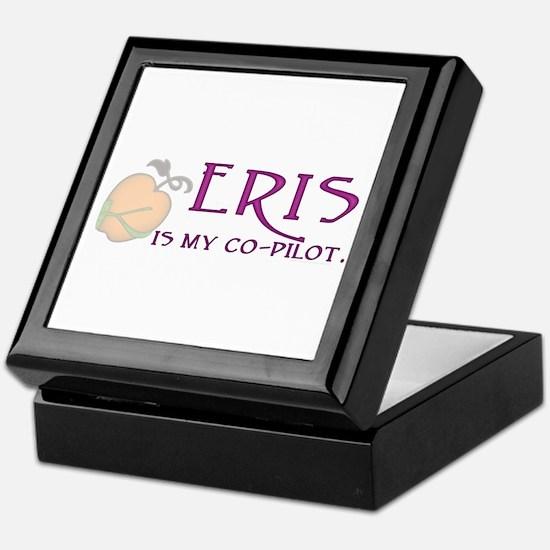 Eris Is My Co-Pilot Keepsake Box