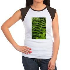 Ferns Women's Cap Sleeve T-Shirt