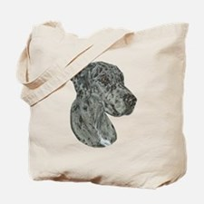 Merle Dog Tote Bag