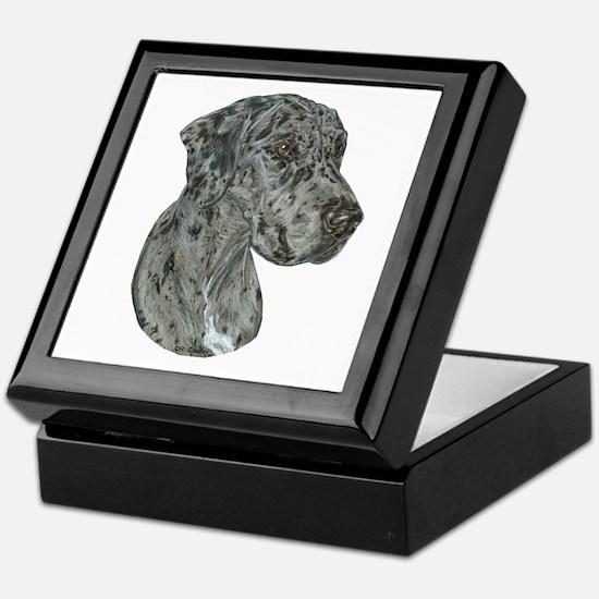 Merle Dog Keepsake Box