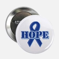 "Blue Ribbon Hope 2.25"" Button (100 pack)"