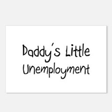 Daddy's Little Unemployment Postcards (Package of