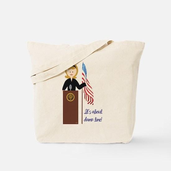 Election Equality! Hillary Tote Bag