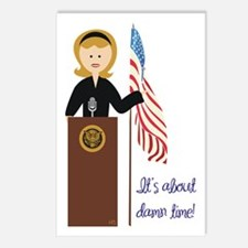 Election Equality! Hillary Postcards (Package of 8