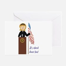 Election Equality! Hillary Greeting Card