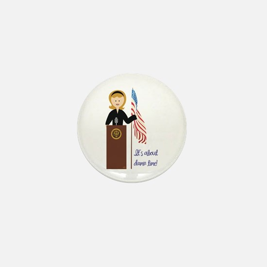 Election Equality! Hillary Mini Button