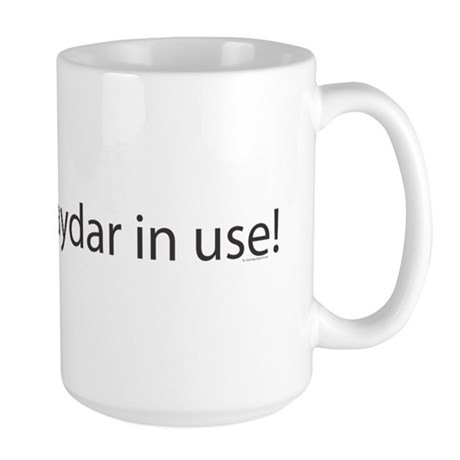 Gaydar Large Mug