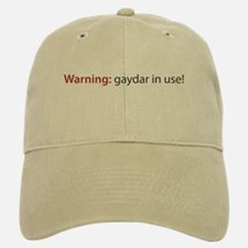 Gaydar Baseball Baseball Cap