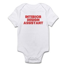 Retro Interior De.. (Red) Infant Bodysuit
